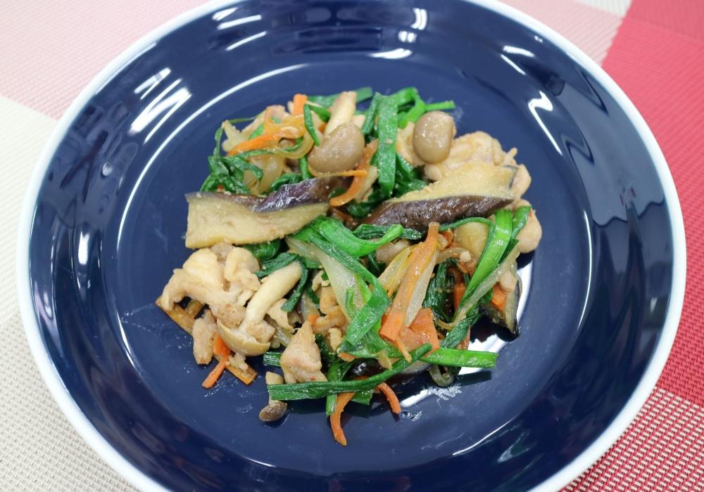 野菜ときのこのプルコギ